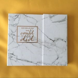 she believed she could so she did marble planner